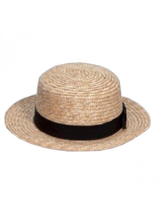 Sombrero chevalier paja