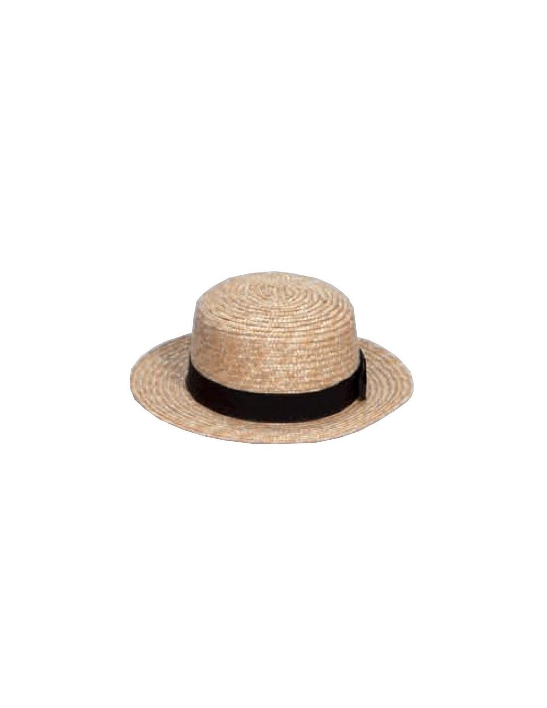 Sombrero chevalier paja - Comprar en Tienda Disfraces Bacanal f346896b934