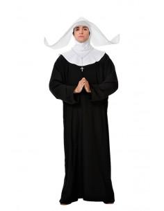 Disfraz de monja para hombre