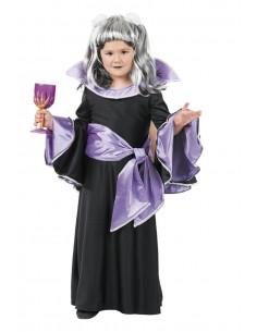 Disfraz de draculina niña