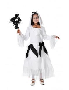Disfraces de novia cadaver niña
