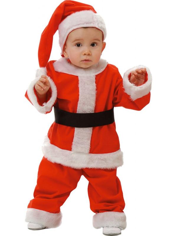 Disfraces de Papa Noel bebé