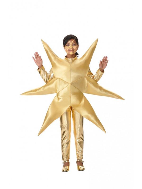 Disfraz estrella navidad infantil