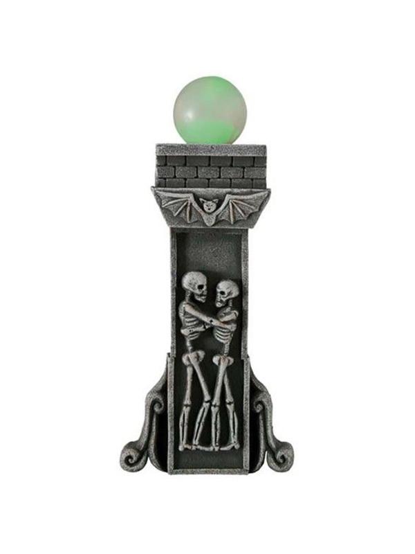 Columna 2 esqueletos con luz
