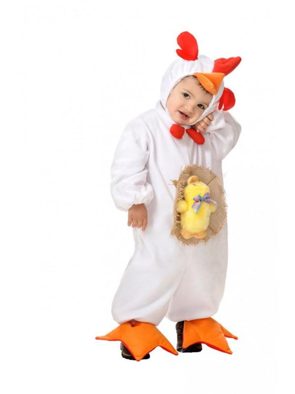 Disfraz gallina para bebé