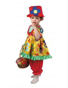 Disfraz payasita bebe