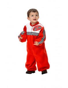 Disfraz piloto carreras bebé