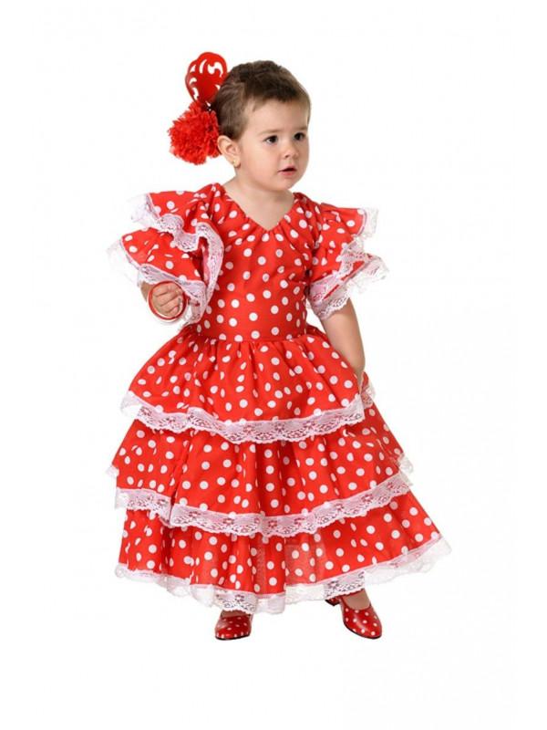 Disfraz andaluza infantil