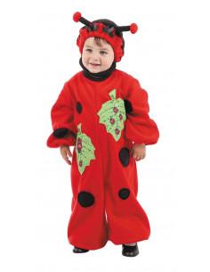 Disfraz mariquita bebe