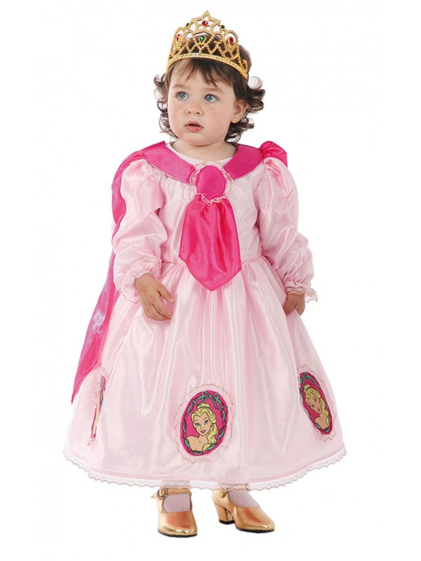 Disfraz princesita rosa bebe