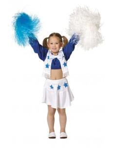 Disfraz animadora infantil cheerleader