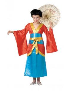Disfraz japonesa geisha infantil