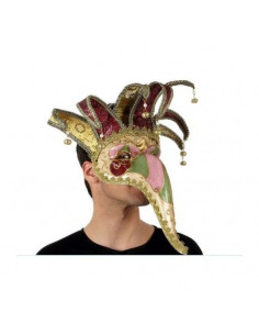 Mascara veneciana con pico largo