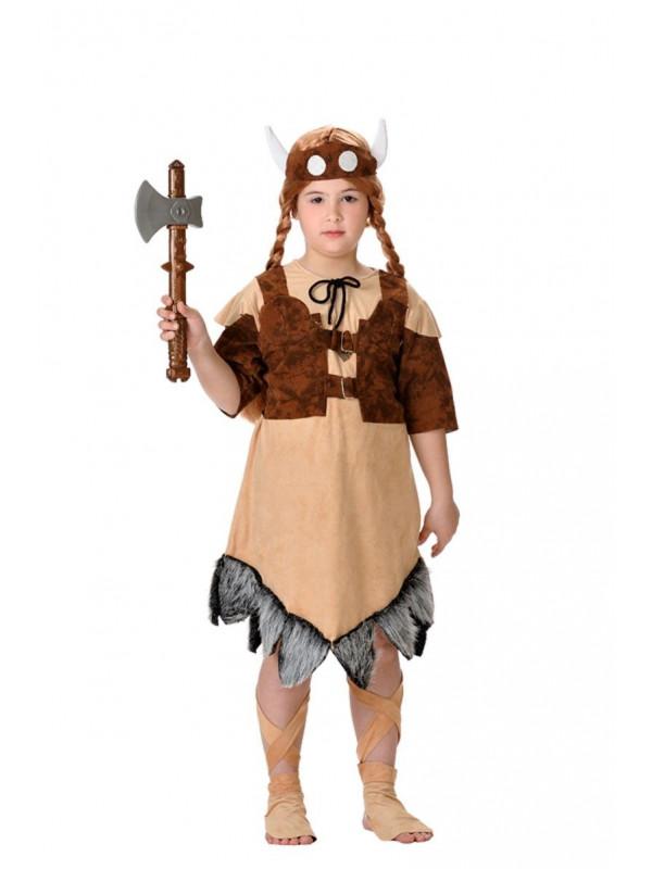 Disfraz vikinga infantil