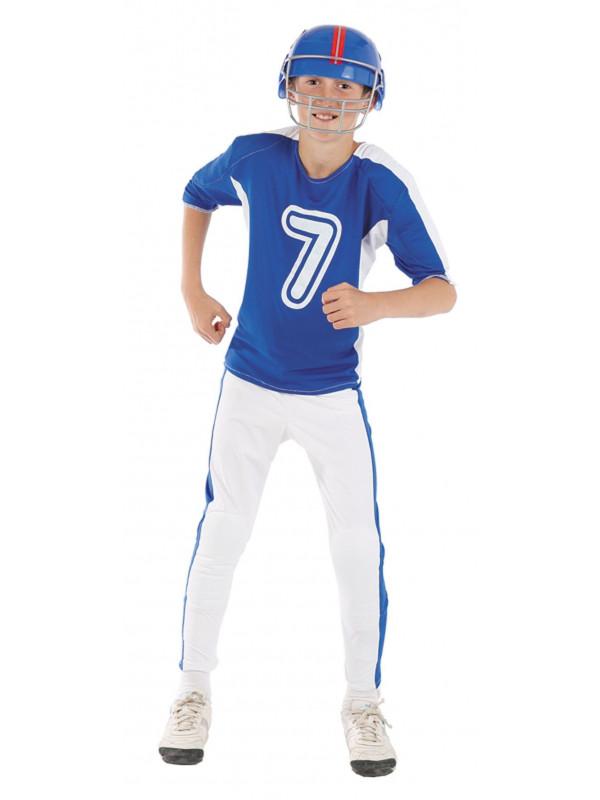 Disfraz jugador de rugby niño