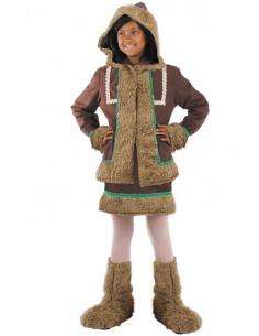 Disfraz esquimal niña