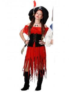Disfraz de bucanera mujer