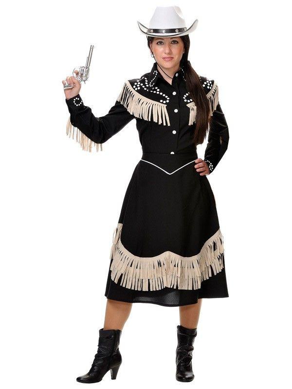 Disfraz de vaquera de rodeo mujer