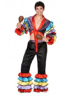 Disfraz de Rumbero Caribeño hombre
