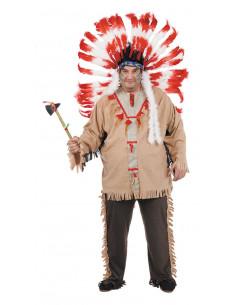 Disfraces de indio xxl hombre