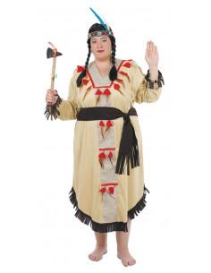 Disfraces de india xxl mujer