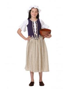 Disfraz campesina niña