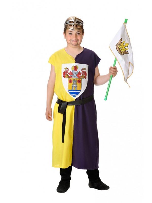 Disfraz escudero niño