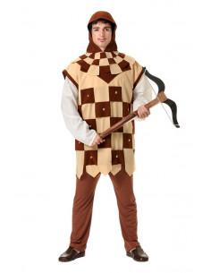 Disfraz medieval ballestero hombre
