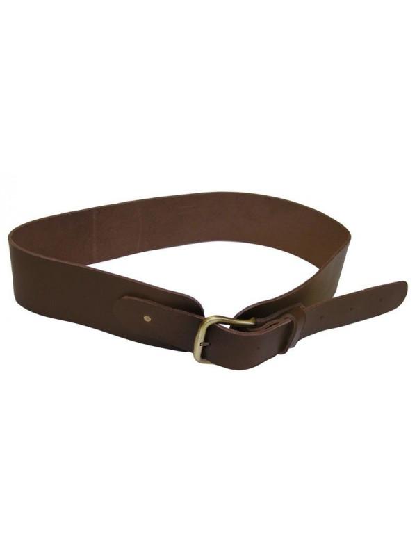 Cinturon cuero ancho