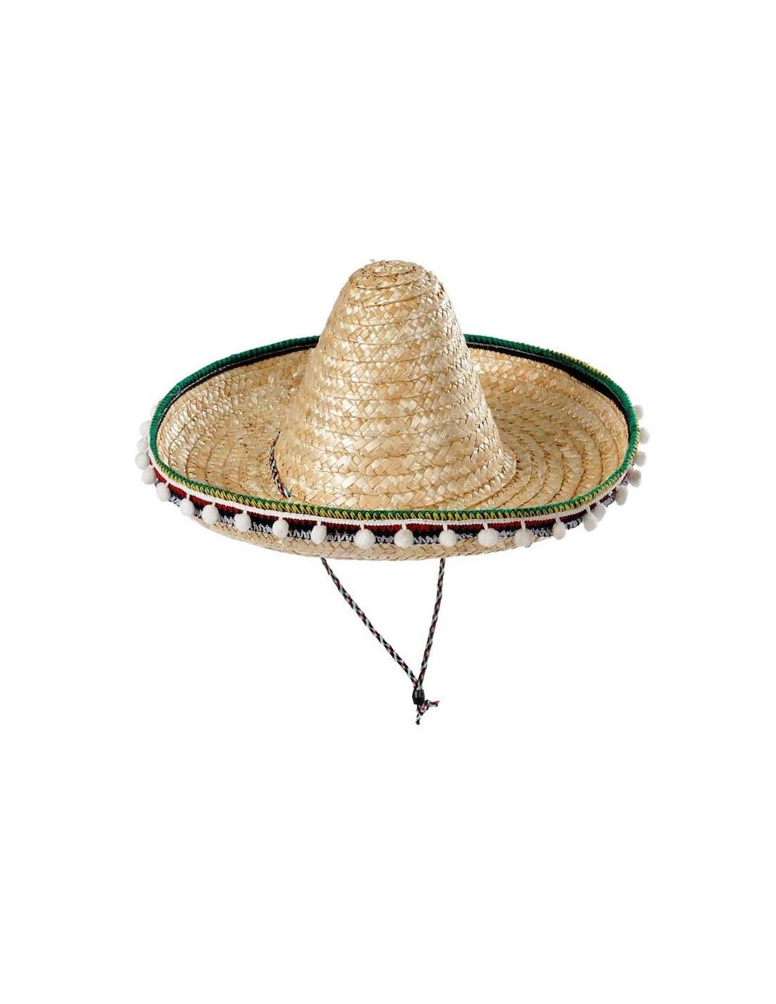 Sombrero mejicano adulto 55cm - Comprar en Tienda Disfraces Bacanal a9a1d1320cc
