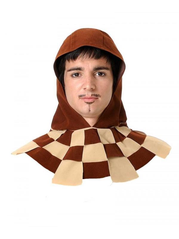 Capucha medieval marron