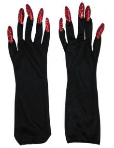 Guantes con uñas