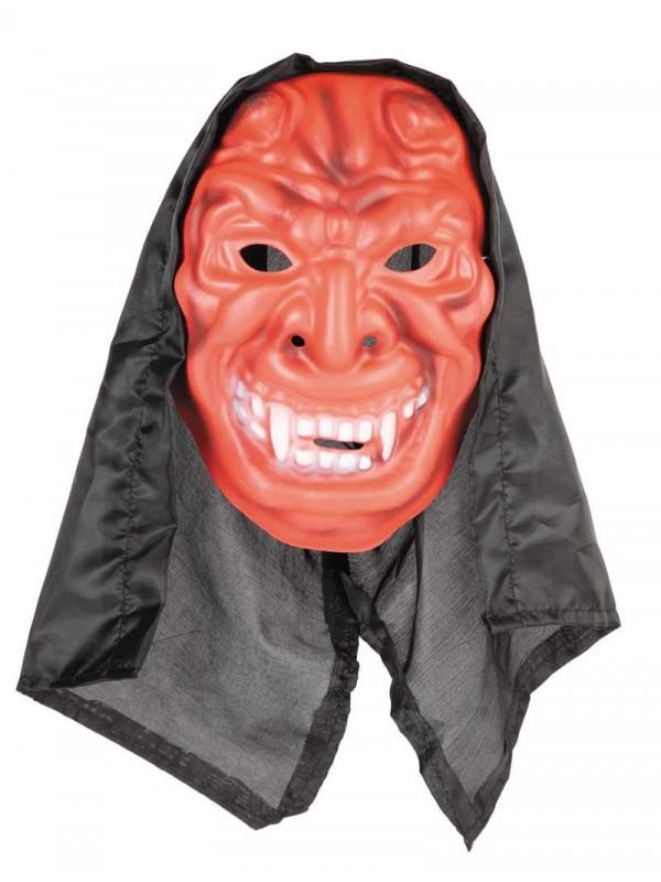 Careta demonio capucha eva