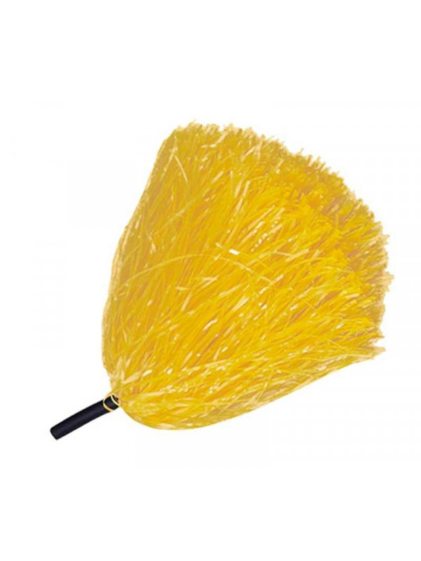 Pompon rafia mango negro