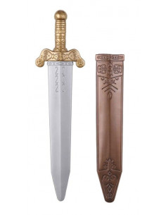 Espada romana lujo con funda
