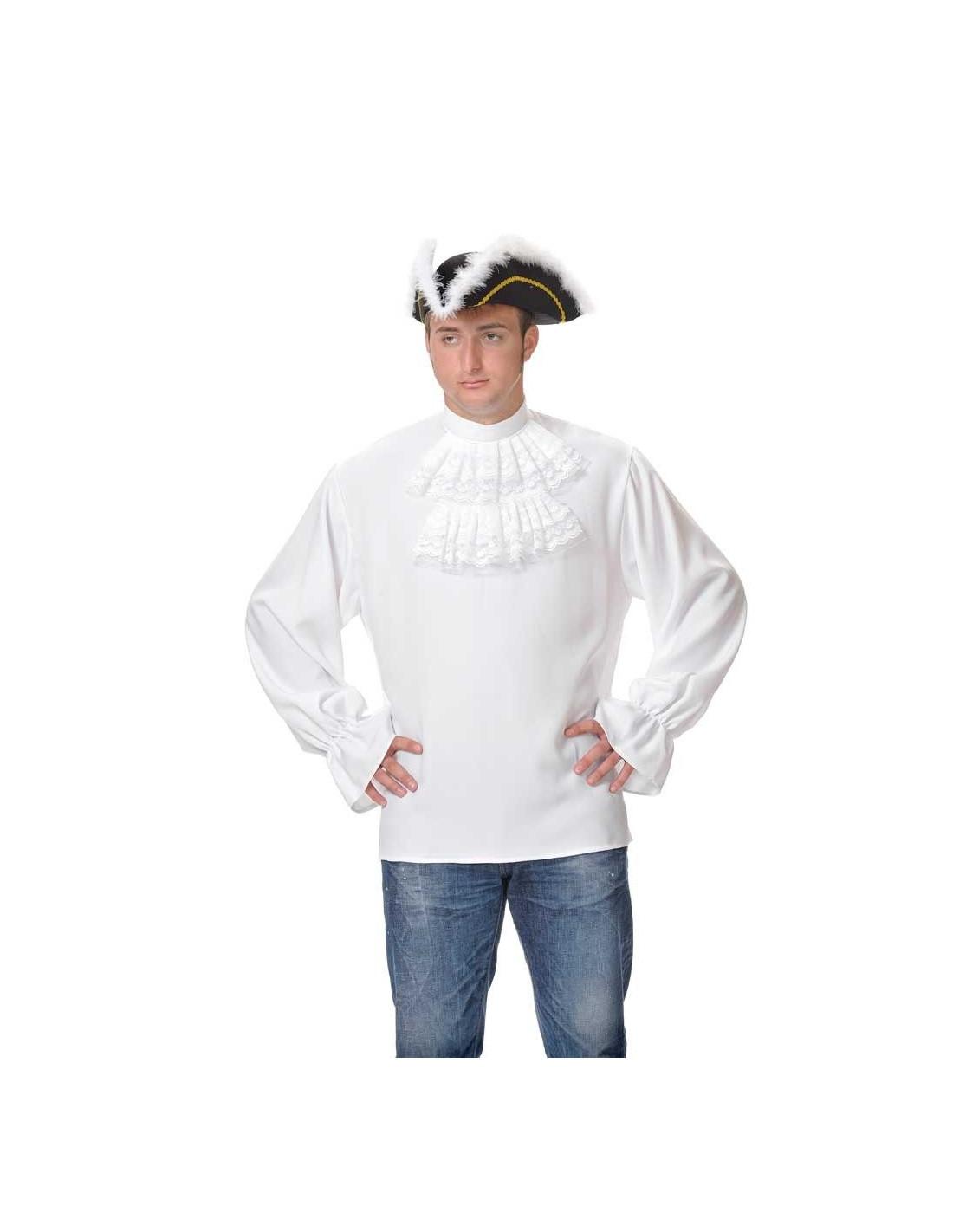 Camisas de época con chorreras - Comprar en Tienda Disfraces Bacanal 1b7afda96ab00