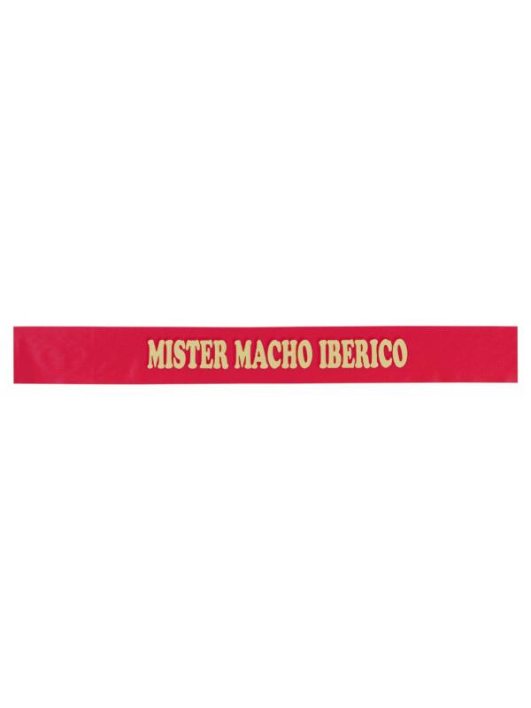Bandas de despedidas mister macho iberico