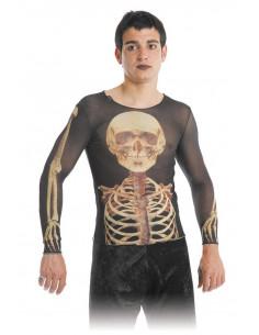 Camisetas de esqueleto unisex