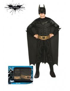 Disfraz Batman niño pecho estampado