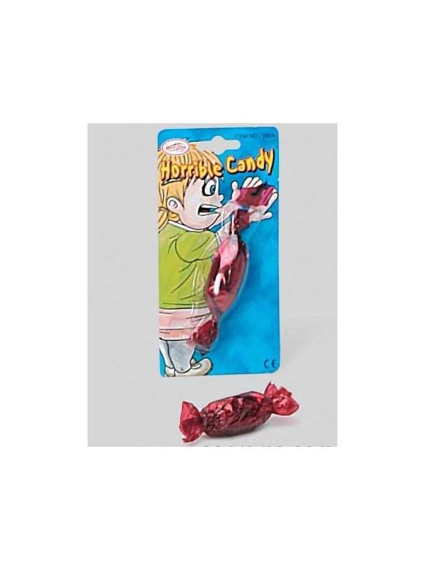 Caramelo con bicho