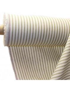 tejido de lino con rayas ana
