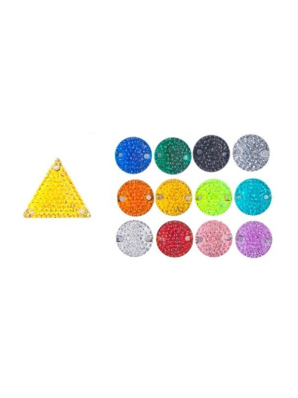 Piedra triangular  micropunto 22x22