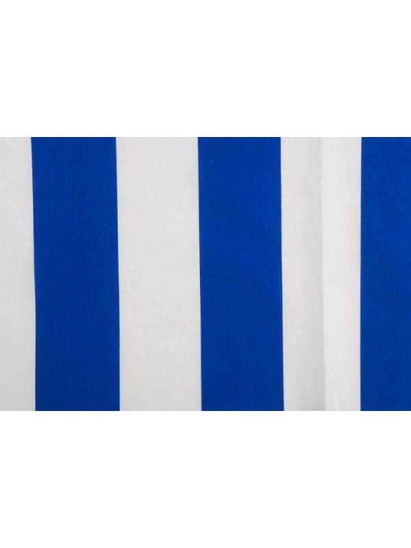 Tejido de bandera rayas blanco y azul