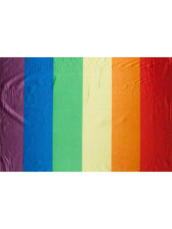 Tejido bandera gay
