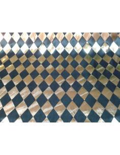 Tela de selene estampado rombos