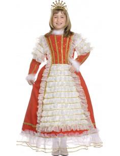 Disfraz reina infantil