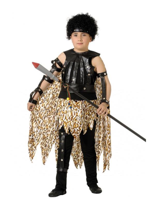 Disfraz rey de africa infantil