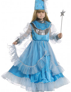 Disfraz hada azul niña