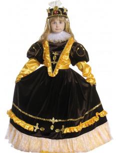 Disfraz emperatriz niña