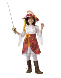 Disfraz mosquetera infantil  Modelo-Único Tallas-12 años